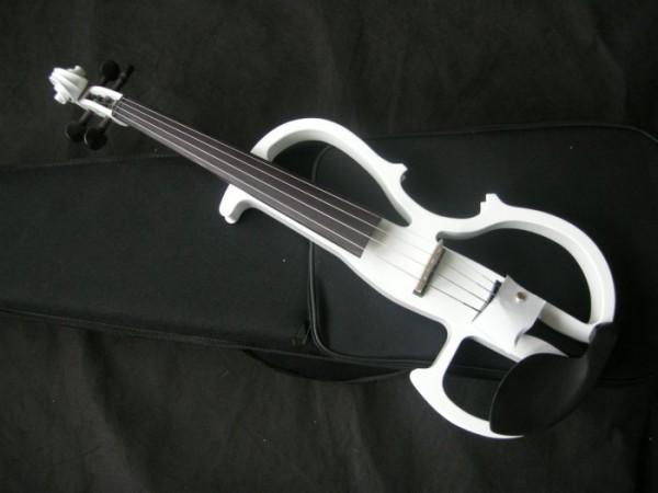 Wholesale-White-4-4-font-b-Electric-b-font-font-b-Violin-b-font-font-b