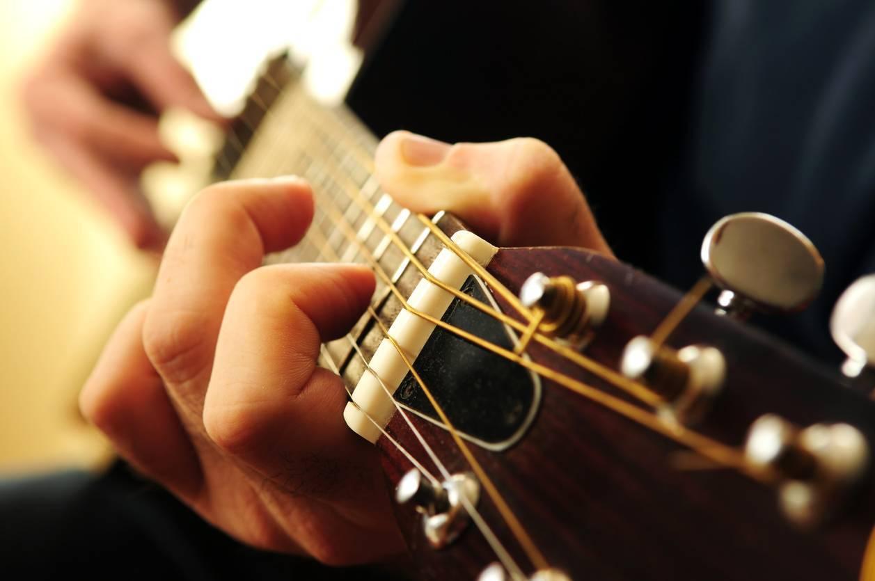 accordeur guitare musicien musique